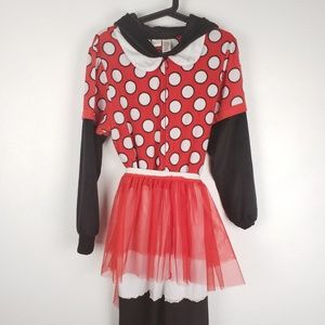 Classic Minnie Mouse Onesie with Skirt